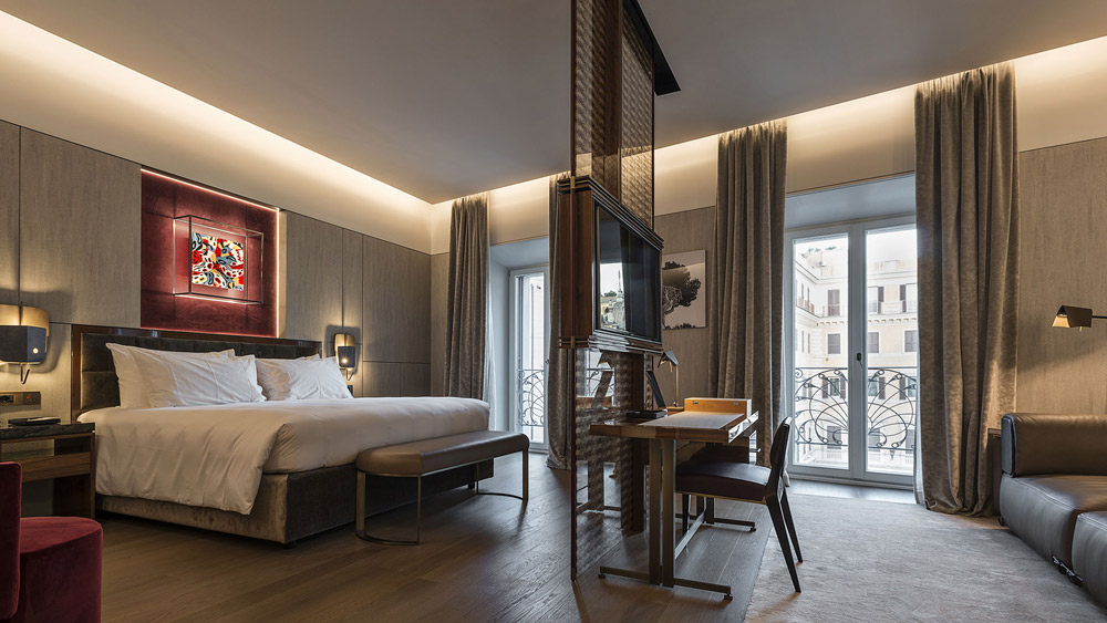 Fendi Suites in Rome