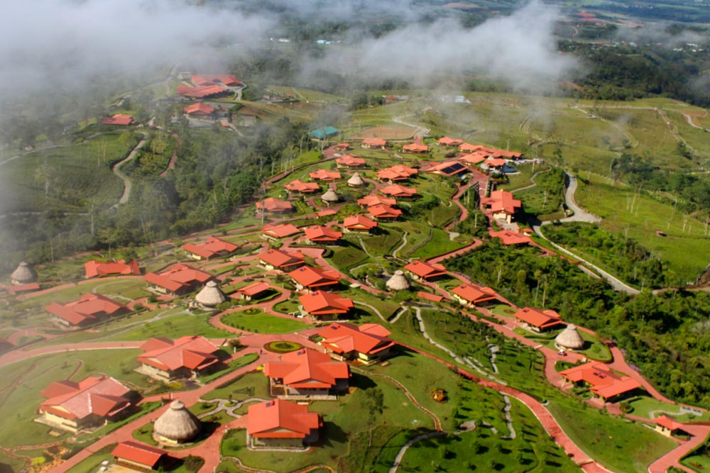 Aerial view of Hacienda AltaGracia