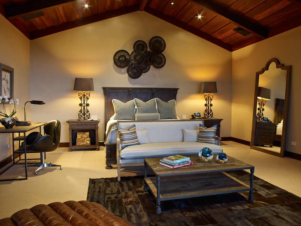 Guest accommodations at Hacienda AltaGracia