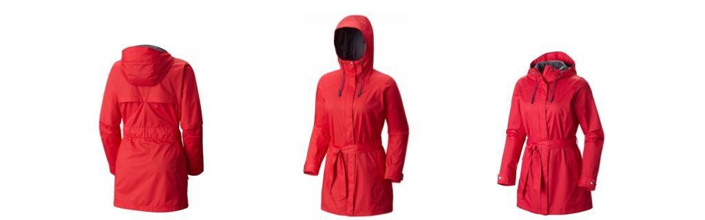 Women's Pardon My Trench Columbia Jacket