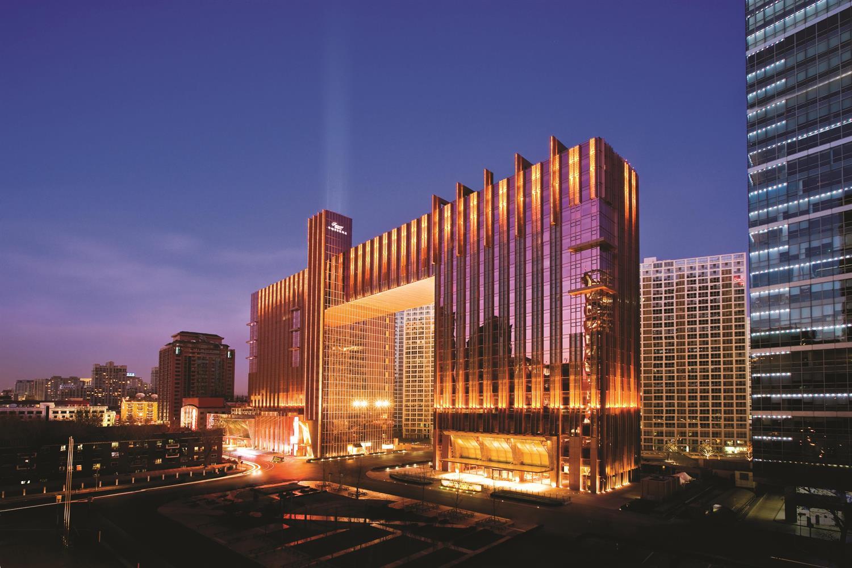 Exterior of the Fairmont Beijing