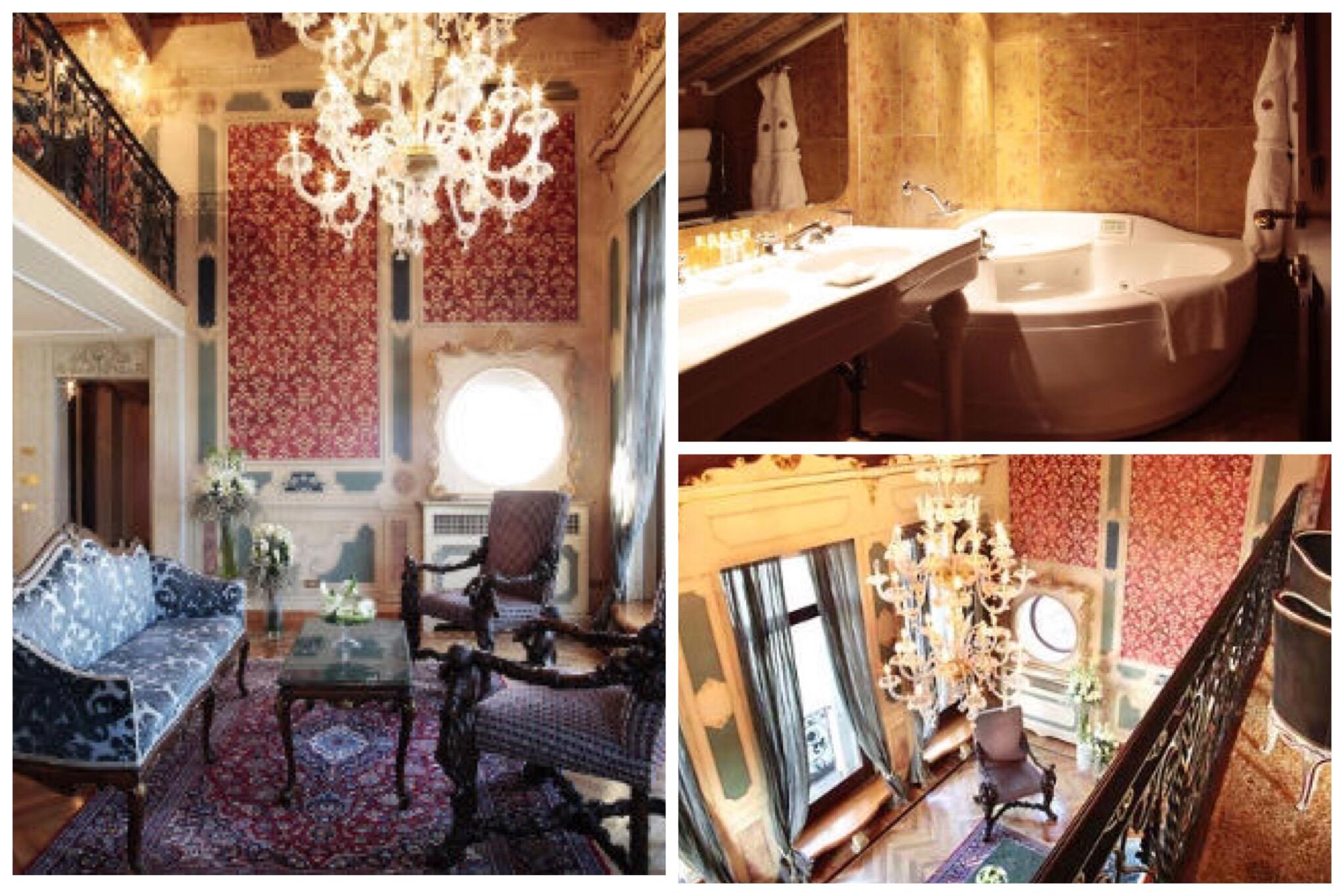 Presidential Suite at Boscolo Venezia