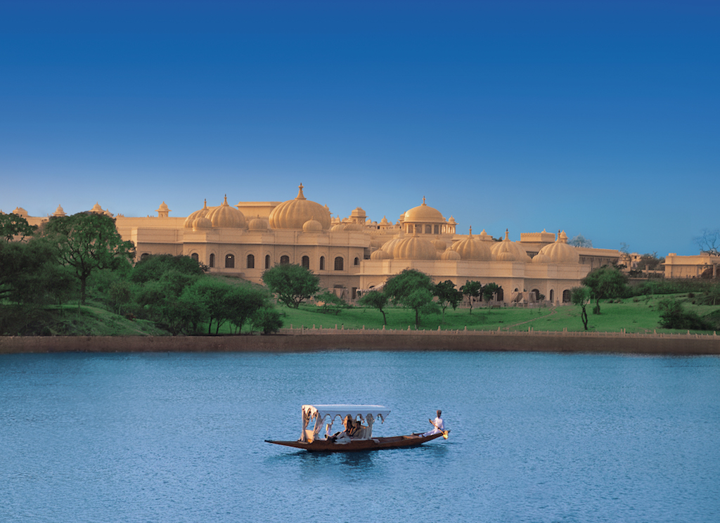 Exterior of The Oberoi Udaivilas