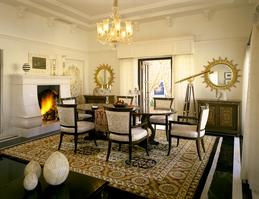 Inside the Kohinoor Suite at The Oberoi Udaivilas