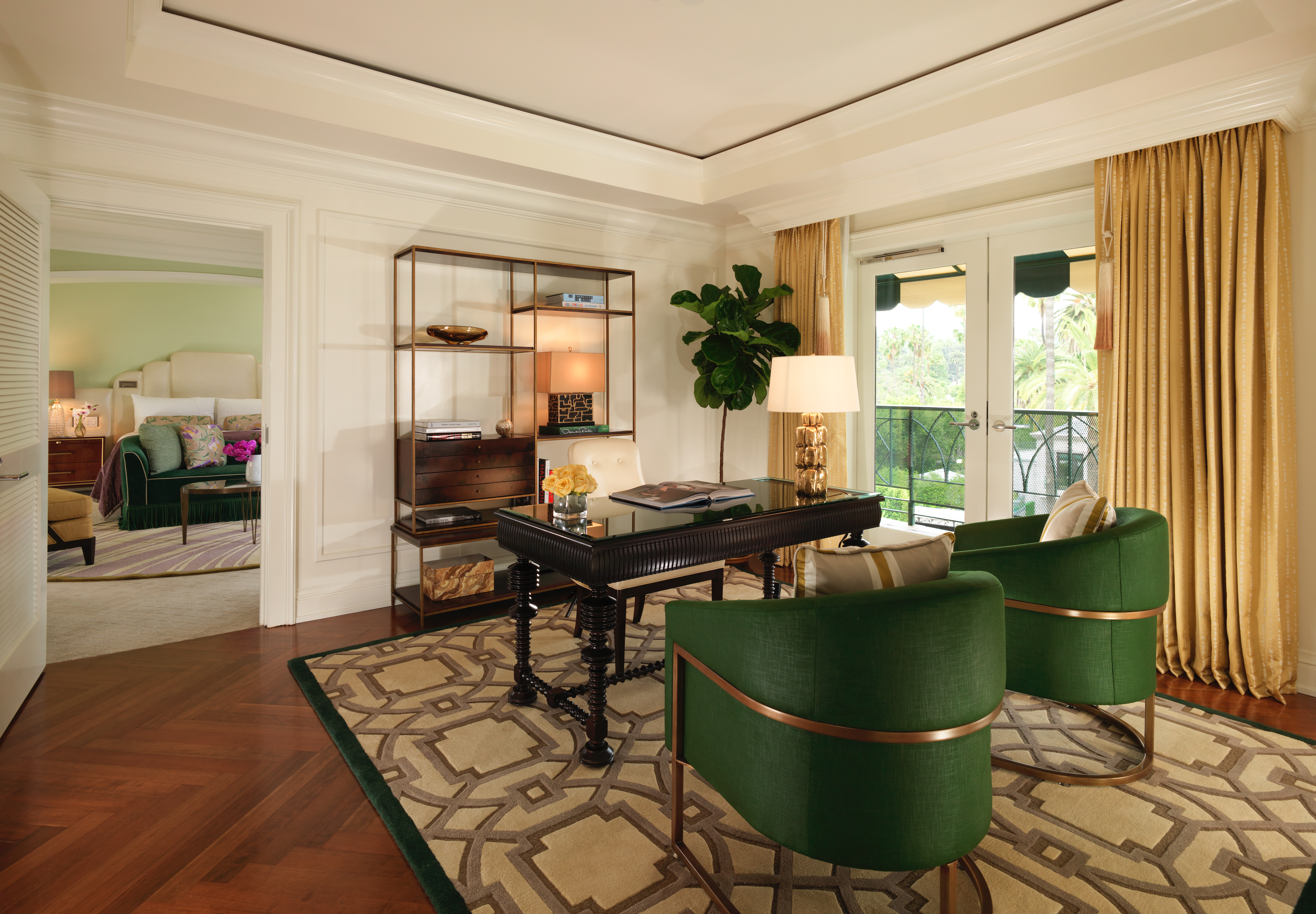 Presidential Suite Office at the Beverly Hills Hotel