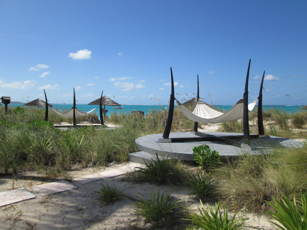 Relaxing beach spot at Beaches Turks and Caicos