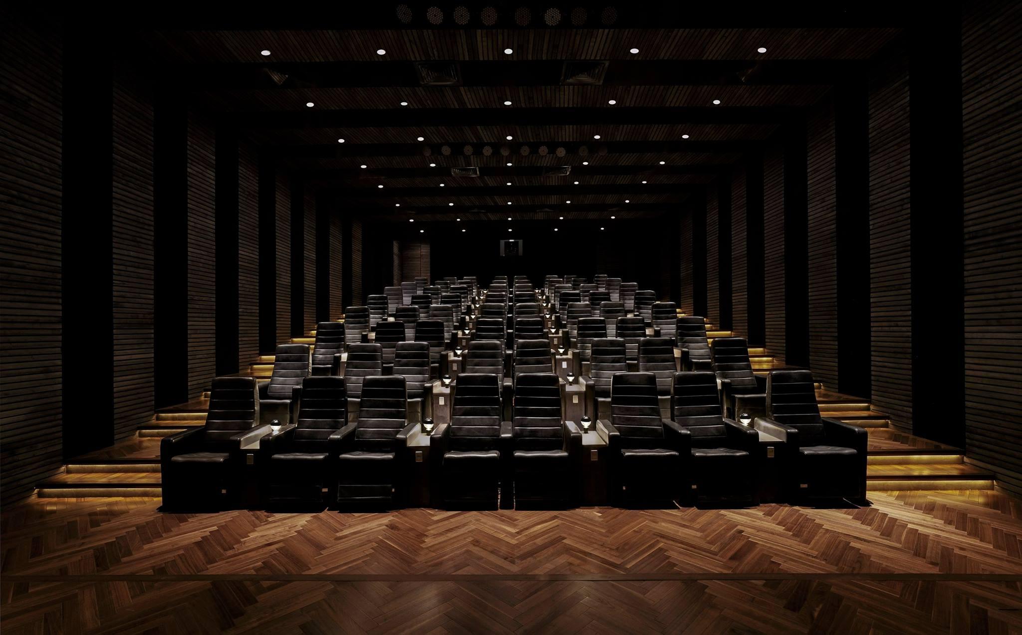 Platinum Lounge Cinema at Roseate House New Delhi