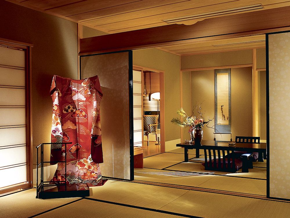 Japanese Suite at the Ritz-Carlton, Osaka