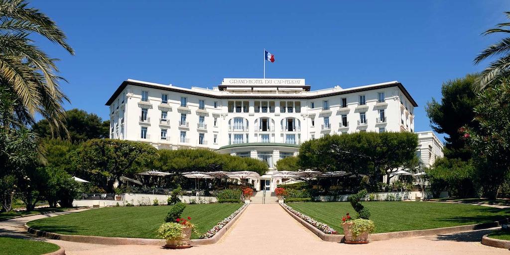 Exterior of the Grand Hotel du Cap-Ferrat