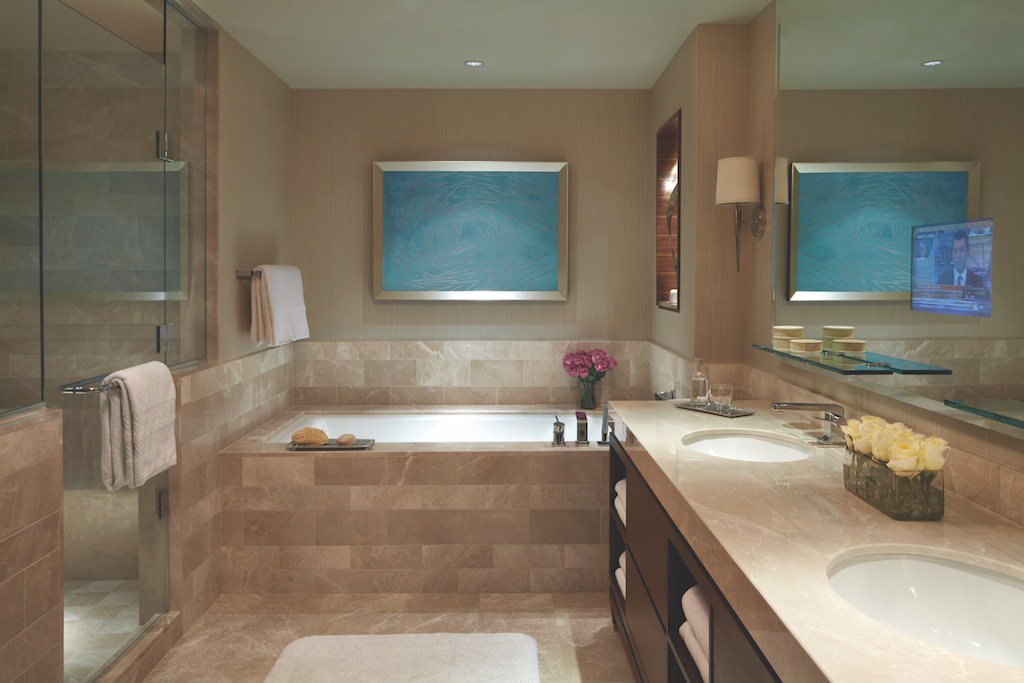Admiral Suite Master Bath at Four Seasons Baltimore