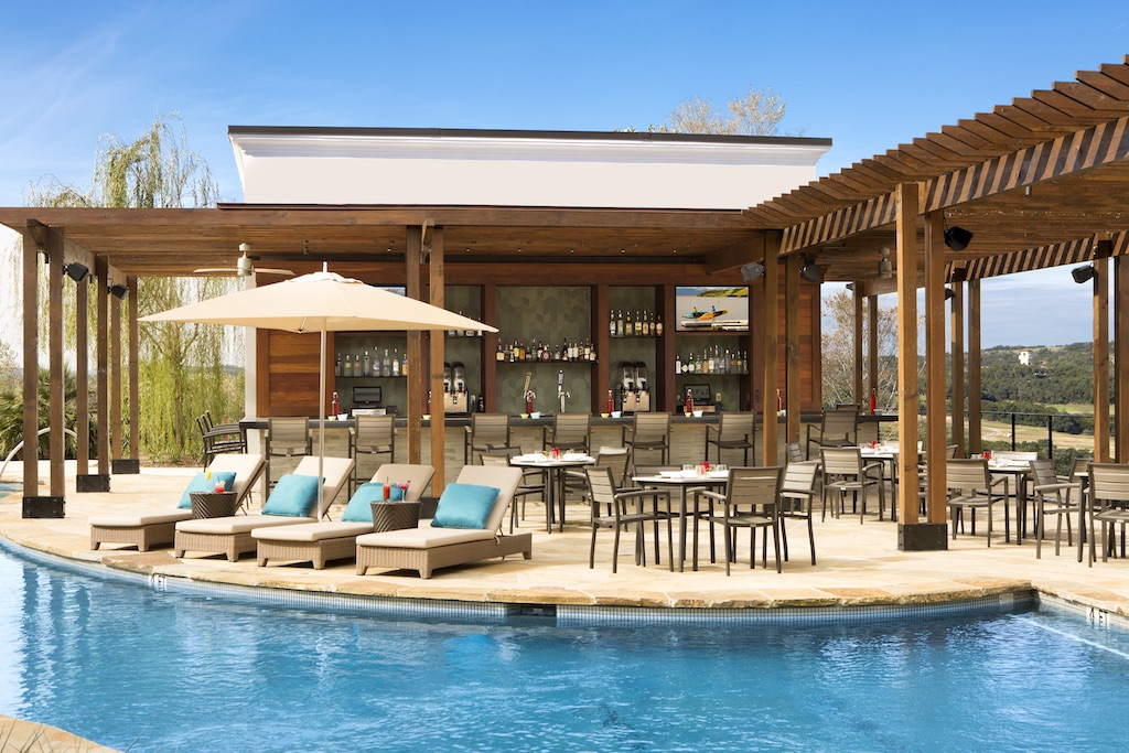 Topaz Poolside Grill at La Cantera Resort