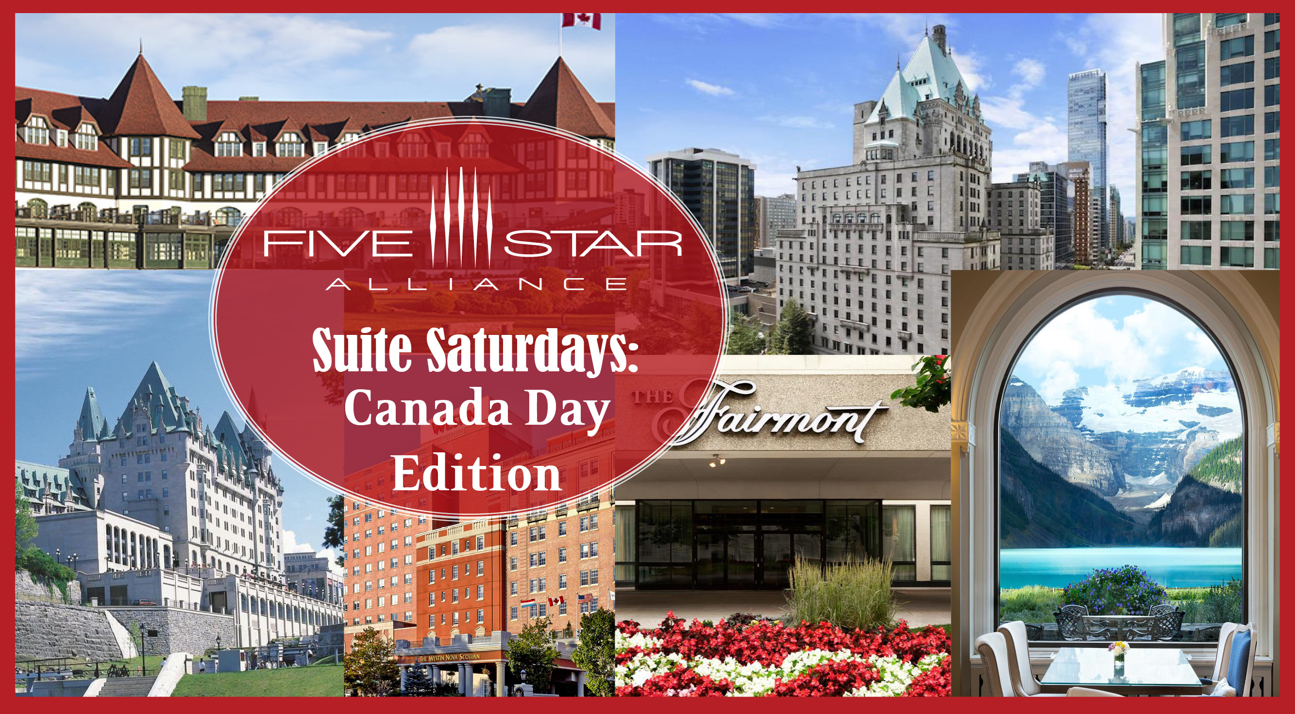 Suite Saturdays Canada Day