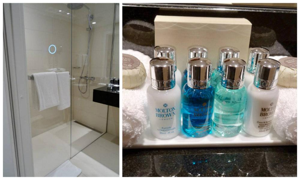 Standard Room Bathroom Amenities at Hotel Continental Oslo