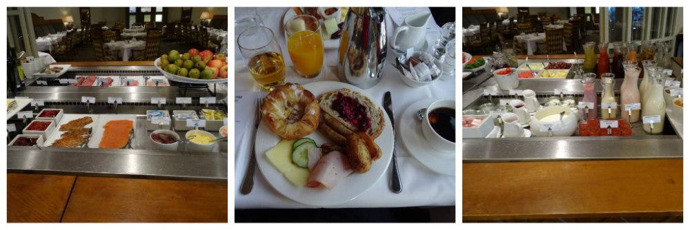 Caroline breakfast at Hotel Continental Oslo