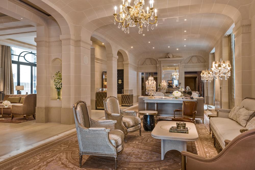 Hotel de Crillon Lobby