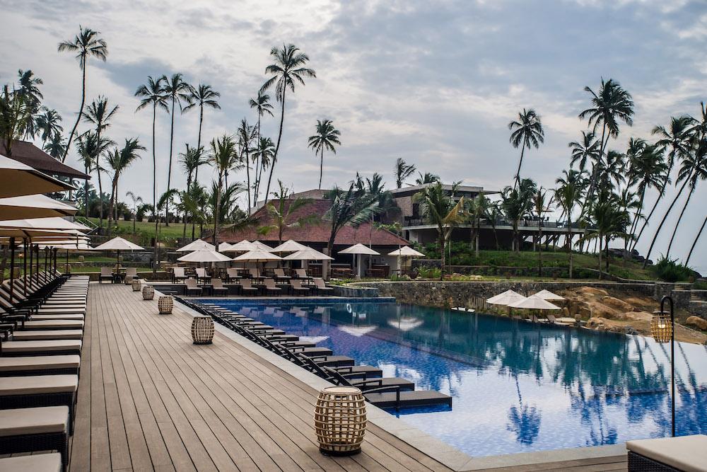 Poolside Sunrise at Anantara Tangalle Peace Haven Resort