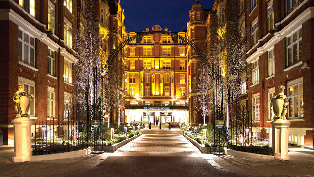 Exterior courtyard of St. Ermin's Hotel London