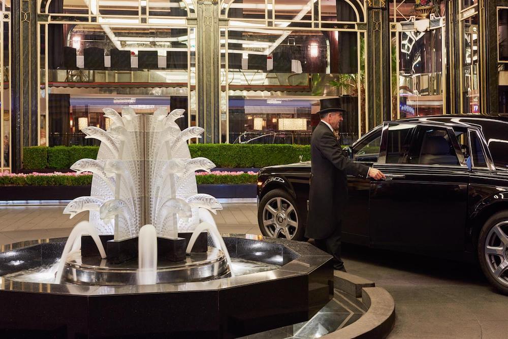 The Savoy London Fountain