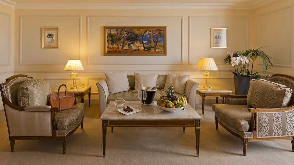 Alain Delon Suite at the InterContinental Carlton Cannes