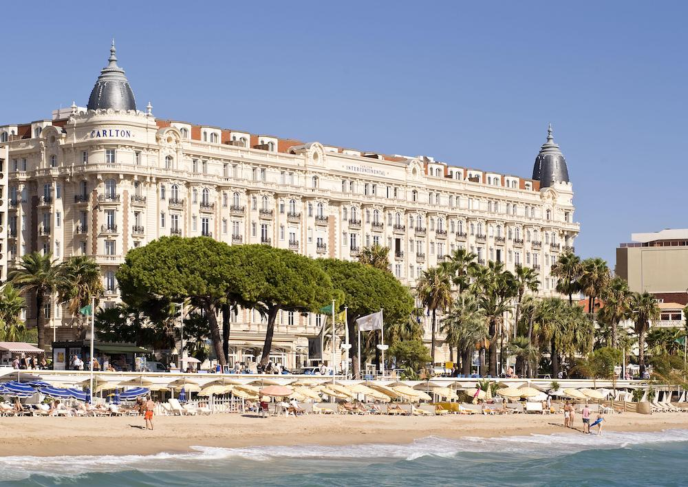 Exterior of the InterContinental Carlton Cannes