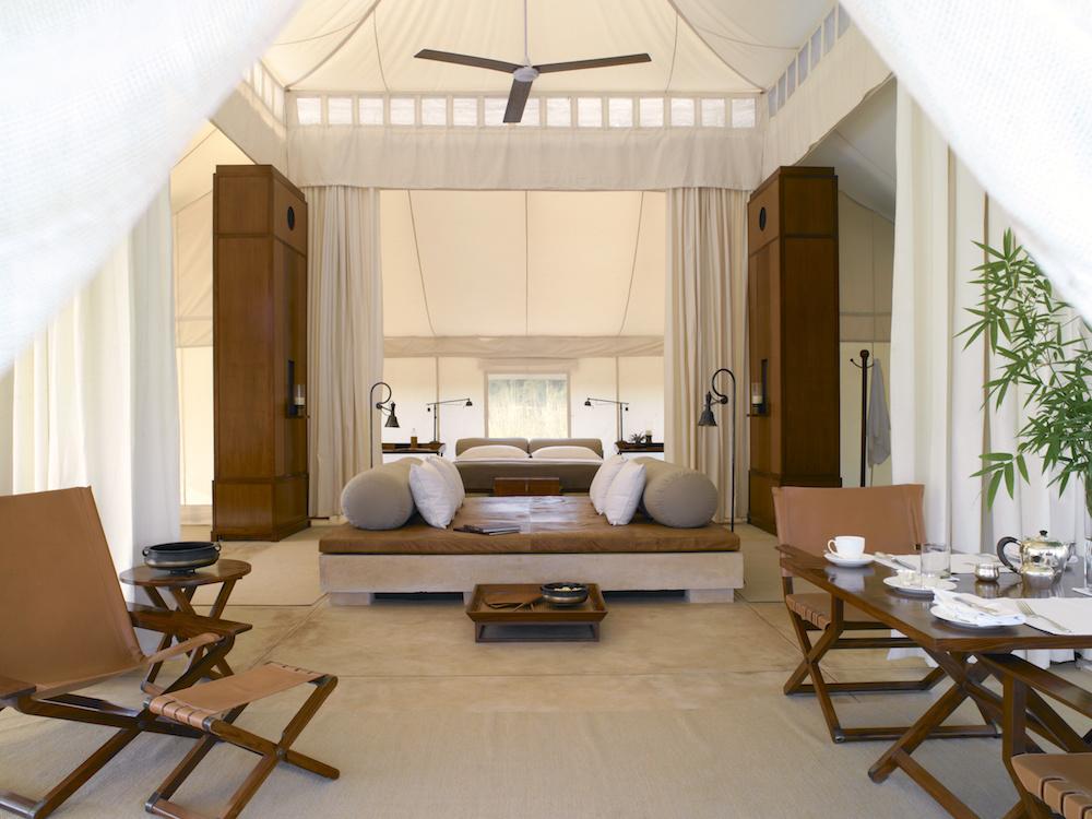 Aman-i-Khas Luxury Tent