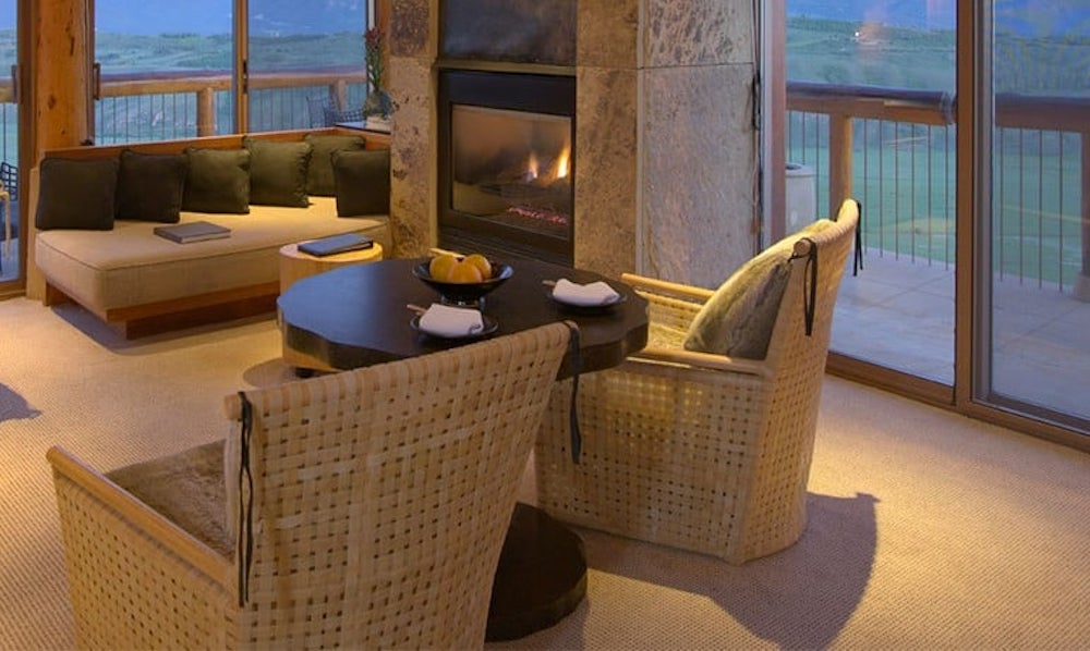 Amangani Grand Teton Suite Living Area