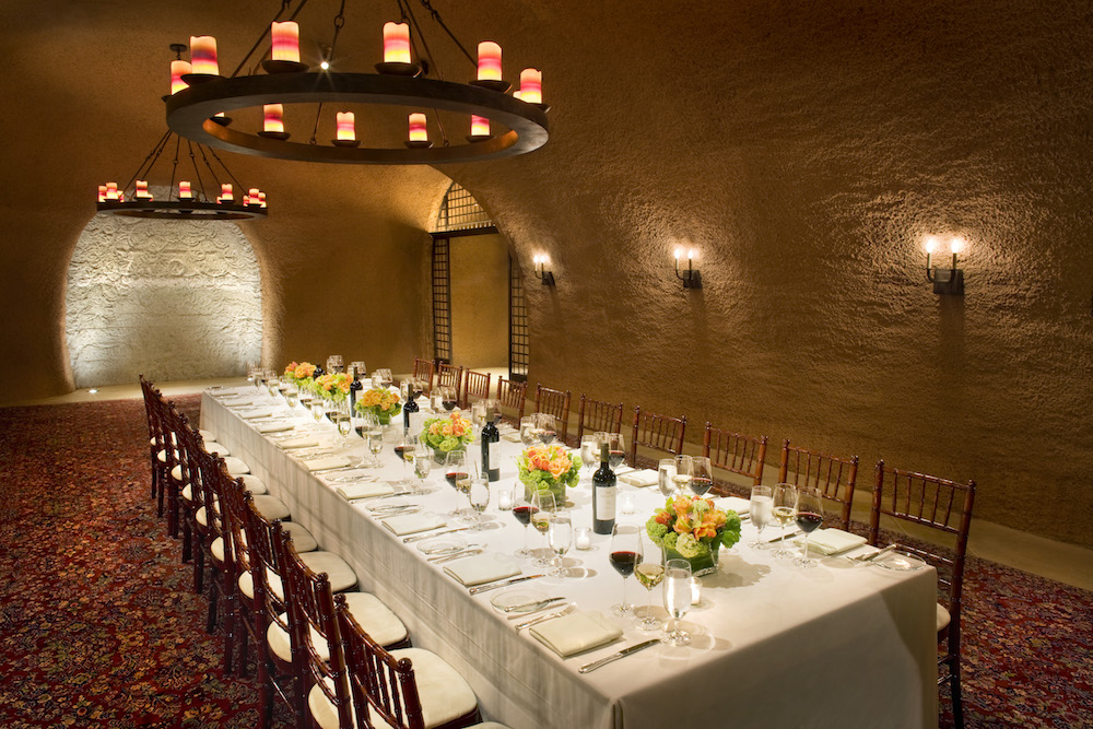 Wine Cave Dinner at Calistoga Ranch