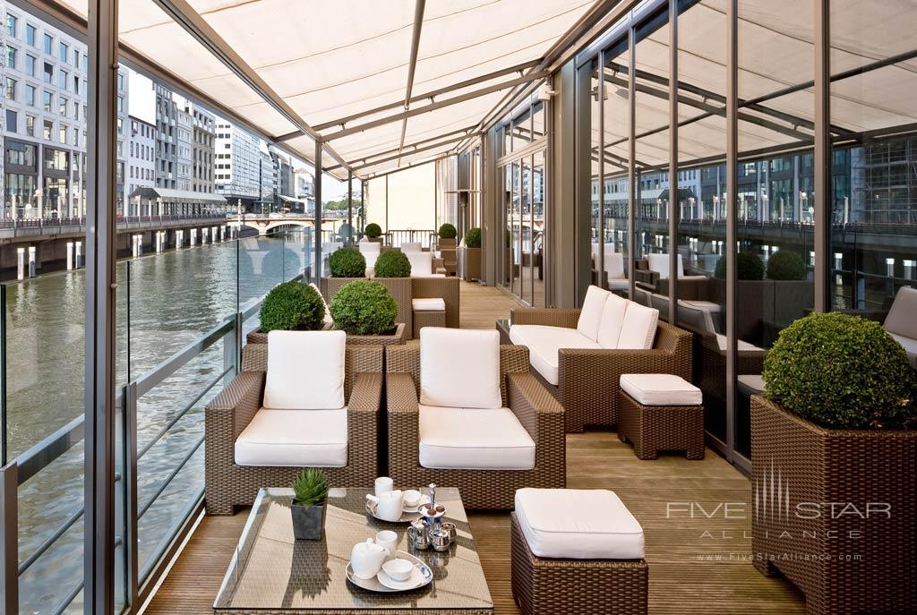 Lounge with Surrounding Water Views at Sofitel Hamburg Alter Wall, Hamburg, Germany