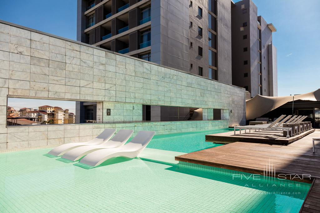 Outdoor Pool at Marriott Crystal Towers, Cape Town, South Africa