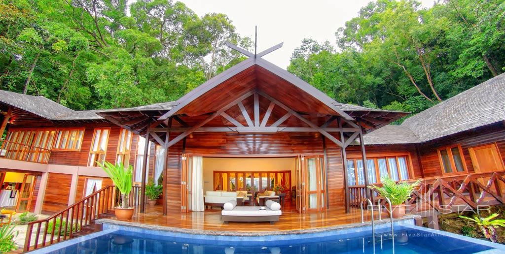 Royal Villa at Bunga Raya Island Resort and Spa, Kota Kinabalu, Malaysia