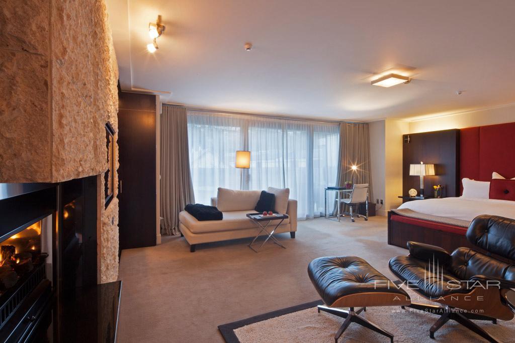 Suite at The Spire Hotel, Queenstown, New Zealand