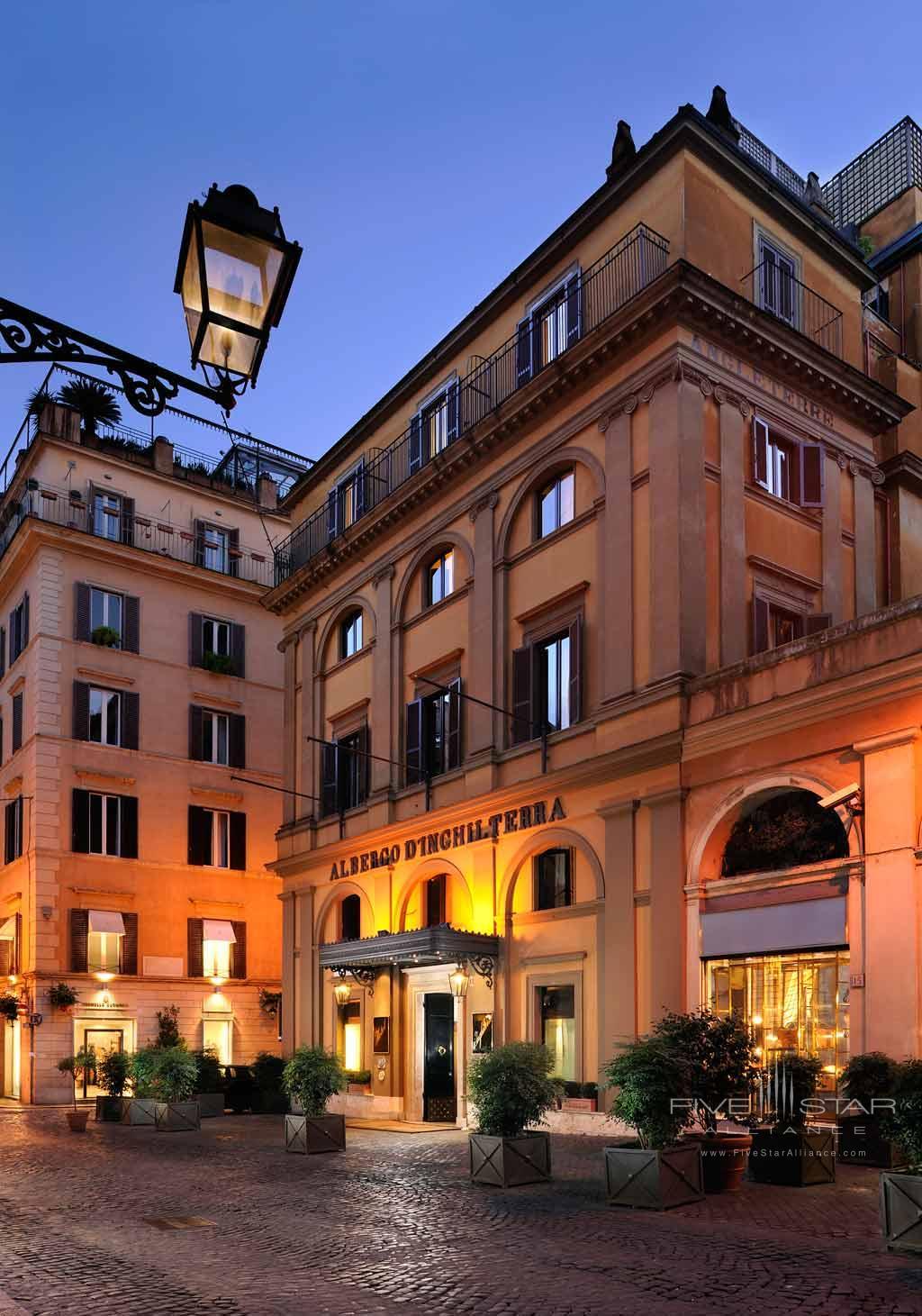 Hotel d'Inghilterra Rome, Italy