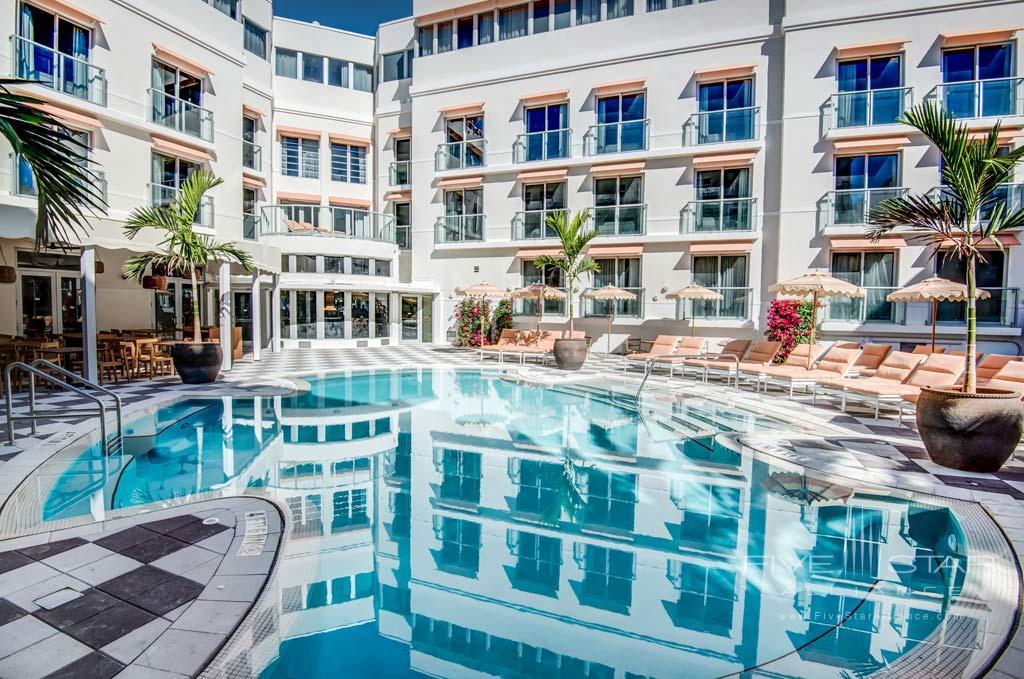 Pool Exterior at The Plymouth Miami Beach, Miami Beach, FL