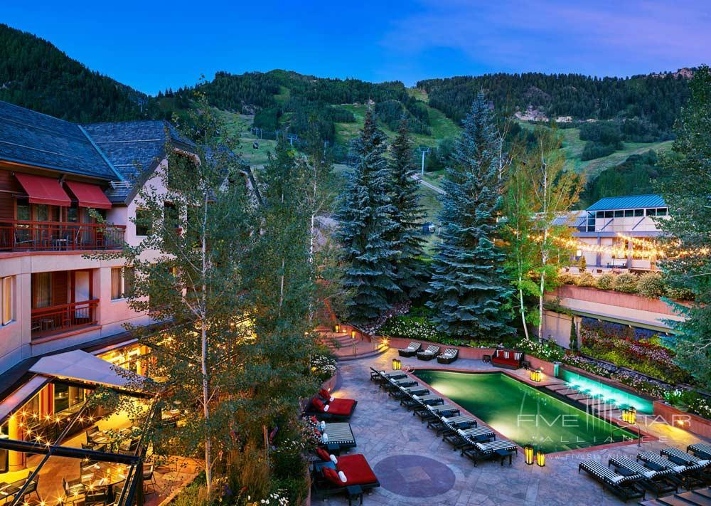 Summer Evenings at The Little Nell, Aspen, CO