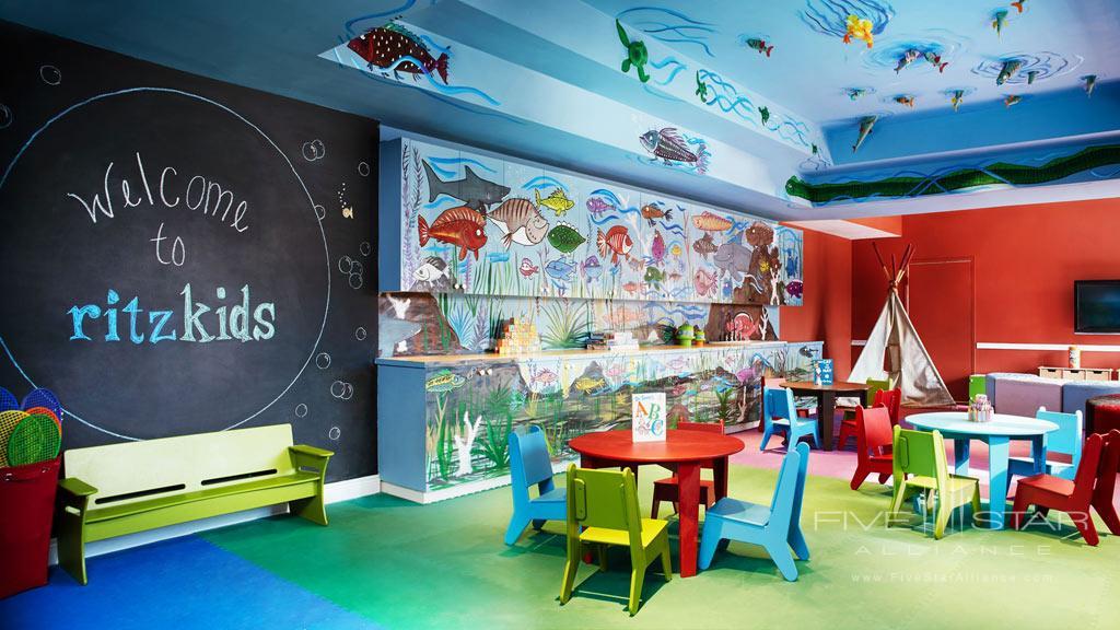 Kid's Club at The Ritz-Carlton Key Biscayne, FL