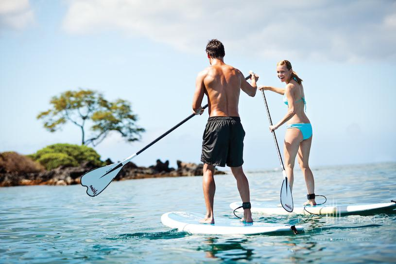 Four Seasons Maui at Wailea Paddleboarding