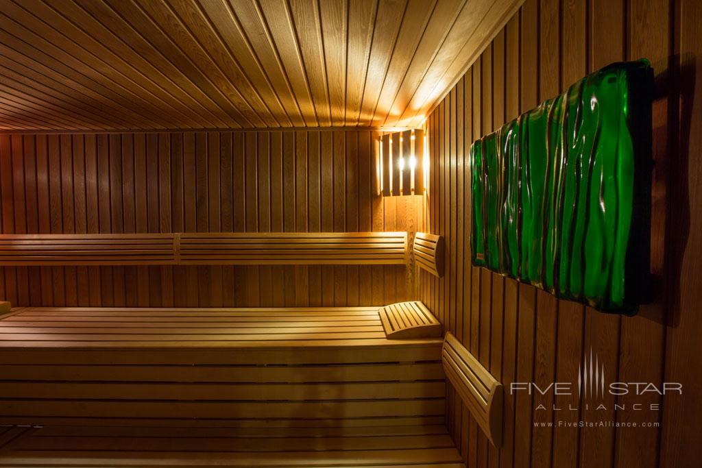Sauna at Hotel Amade Chateau, Vrakúň, Slovakia