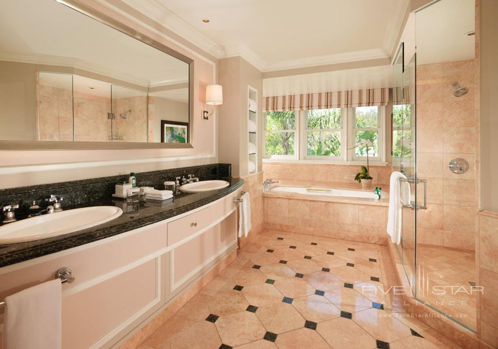 Suite Bath at Beverly Hills Hotel, Beverly Hills, CA