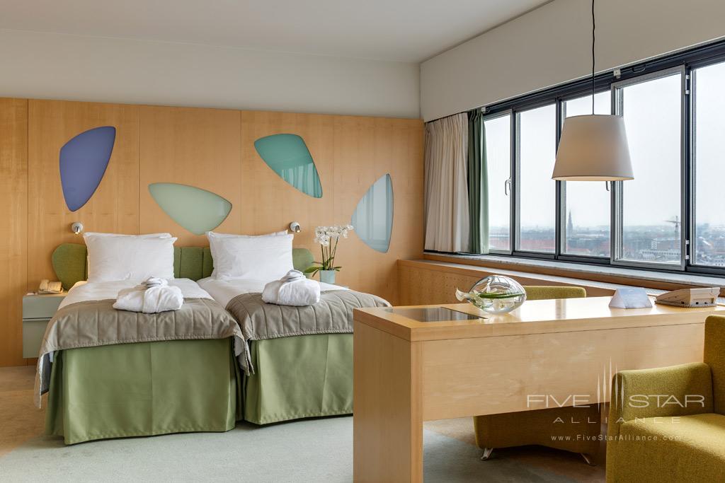 Double Family Room at Radisson Blu Royal Hotel Copenhagen, Denmark
