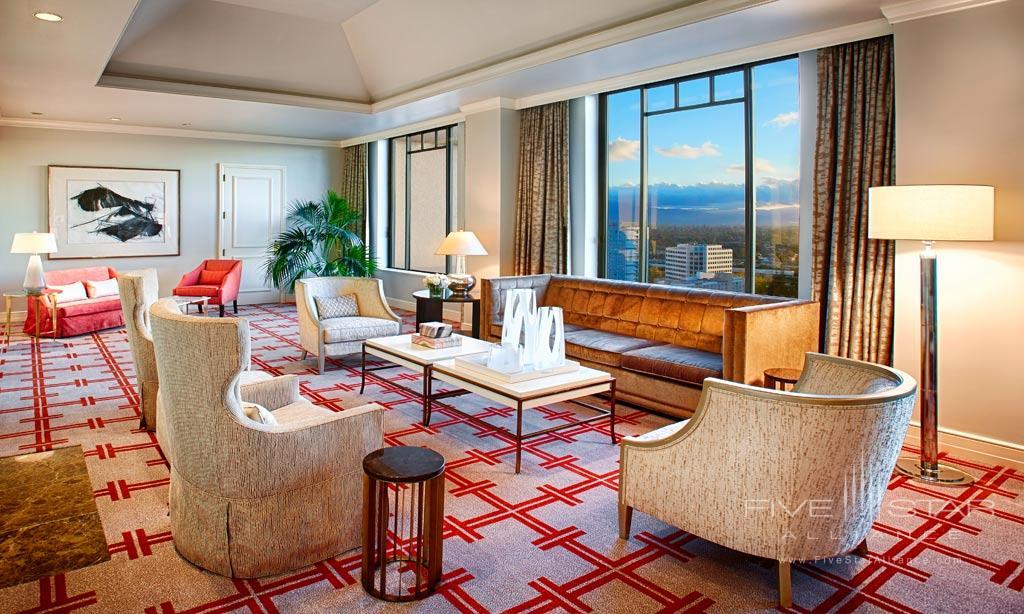 Suite Lounge at Fairmont San Jose, San Jose, CA