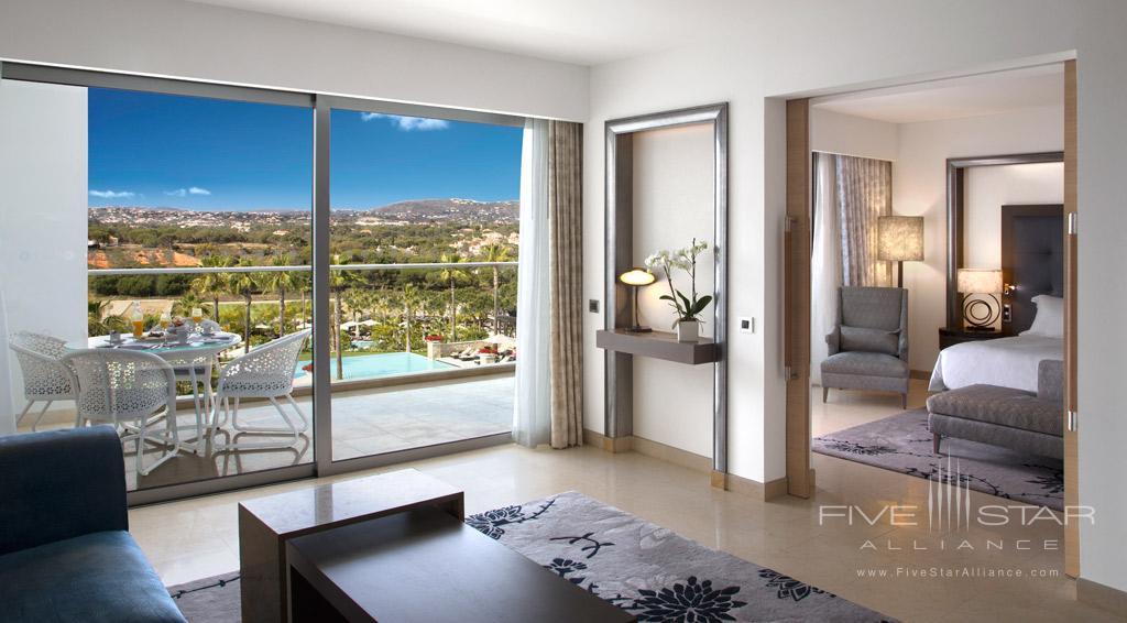 Grand Deluxe Pool View Suite at Conrad Algarve, Algarve, Portugal