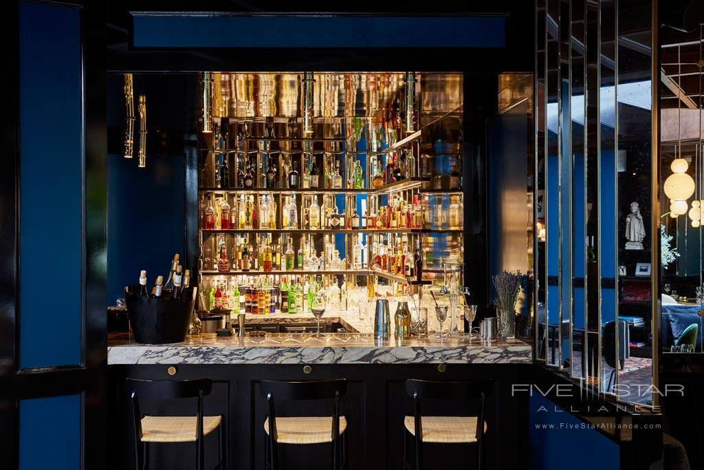 Bar at Le Roch Hotel & Spa, Paris, France