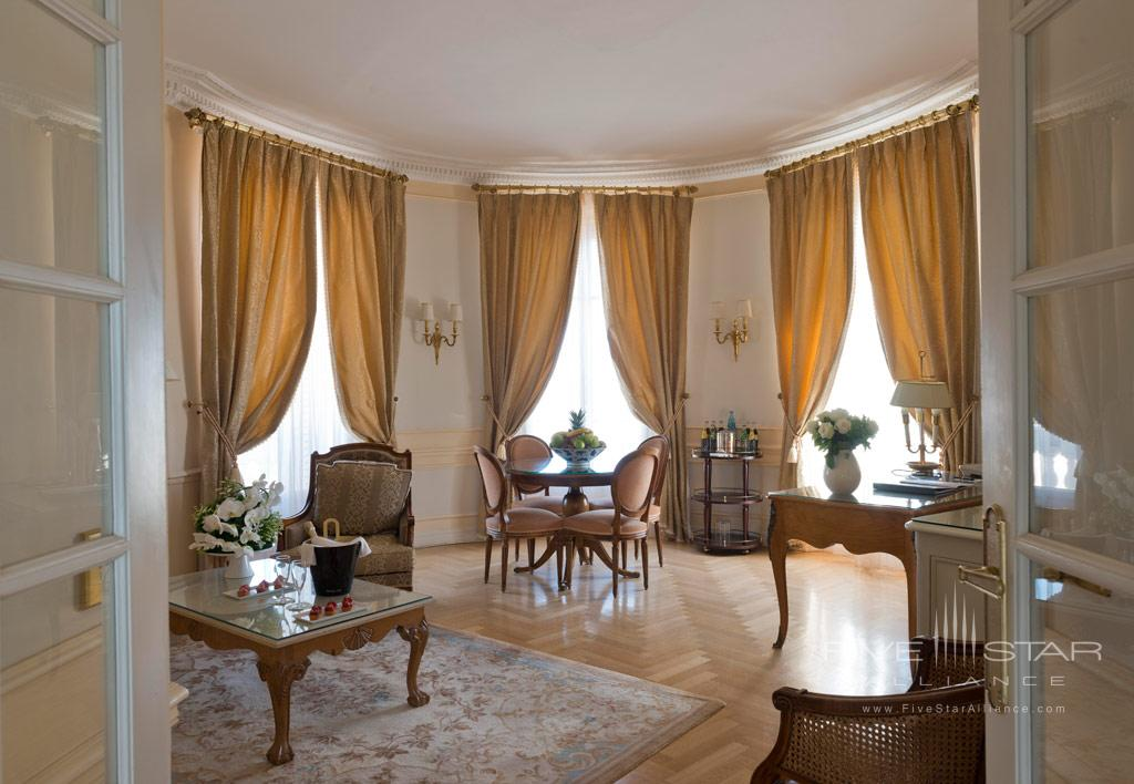 Two Bedroom Sea View Suite at InterContinental Carlton Cannes, Cannes, France