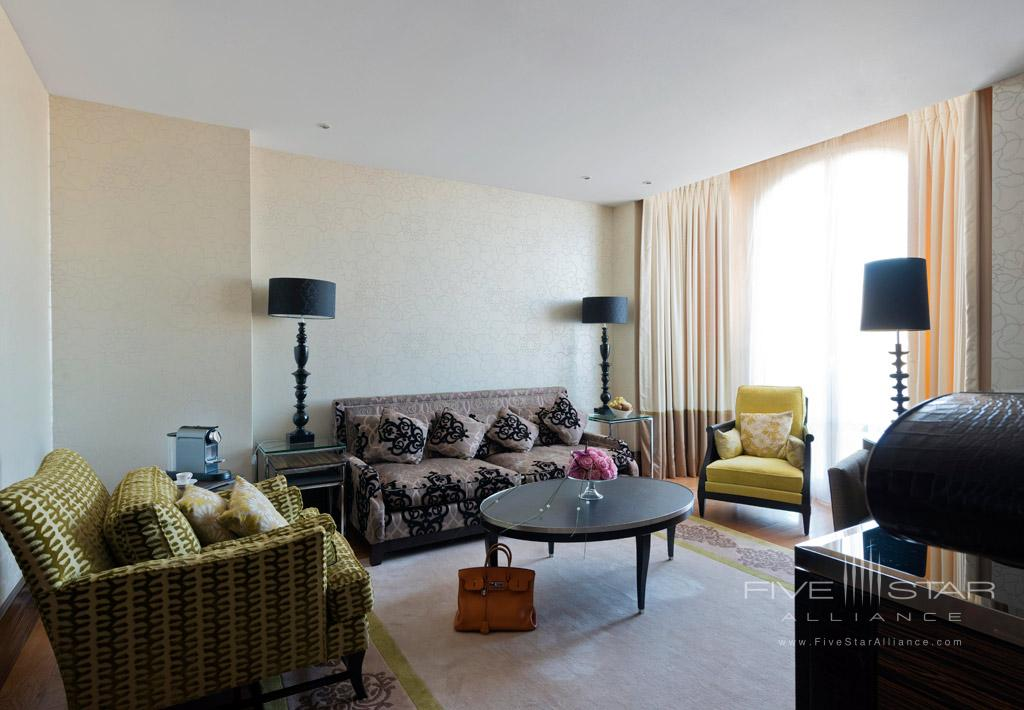 Seventh Floor Suite Lounge at InterContinental Carlton Cannes, Cannes, France