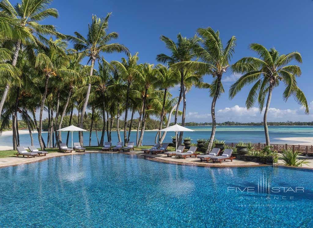 Main Pool at Shangri-La's Le Touessrok Resort, Trou d'Eau Douce, Mauritius