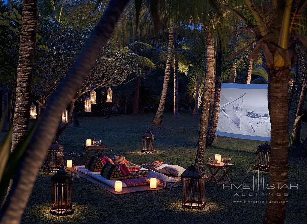 Enjoy the Outdoor Cinema at Shangri-La's Le Touessrok Resort, Trou d'Eau Douce, Mauritius