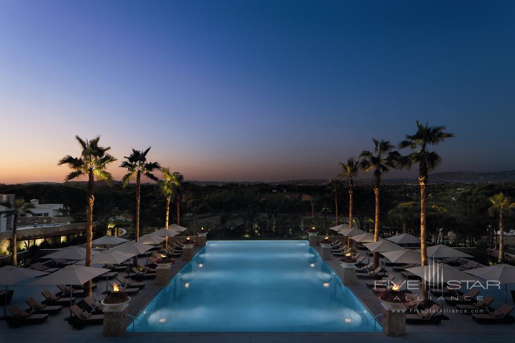 Outdoor Infinity Pool at Conrad Algarve, Algarve, Portugal