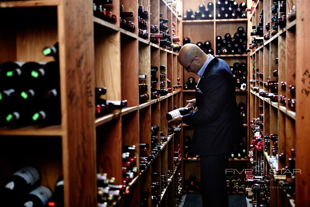 Wine Choices at The Little Nell, Aspen, CO