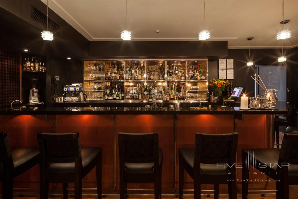 Bar at The Spire Hotel, Queenstown, New Zealand
