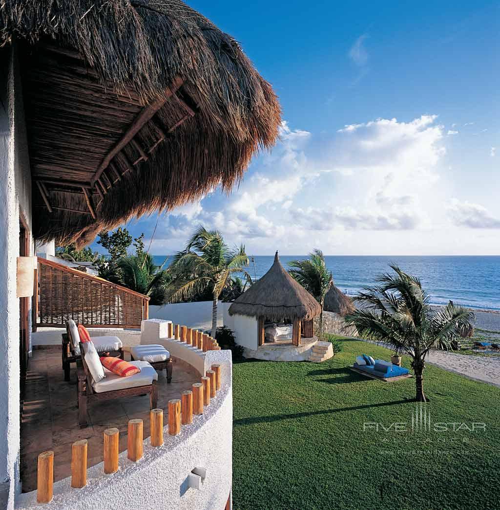 Terrace View at Belmond Maroma Resort and Spa, Riviera Maya, Quintana Roo, Mexico